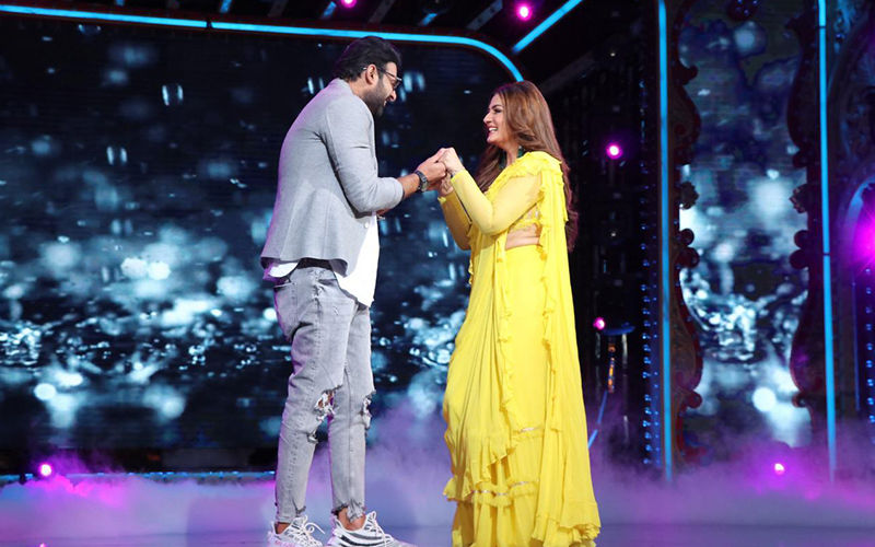Nach Baliye 9: Prabhas Shakes His Booty To Salman Khan's Jumme Ki Raat, Matches Steps With Raveena Tandon