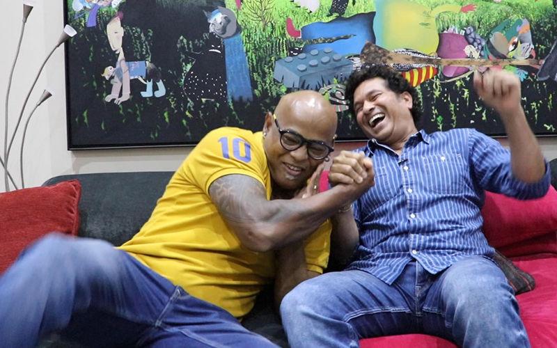 Sachin Tendulkar And Vinod Kambli Celebrate Friendship Day With 'Play With Friends' On Sachin Saga Cricket Champions