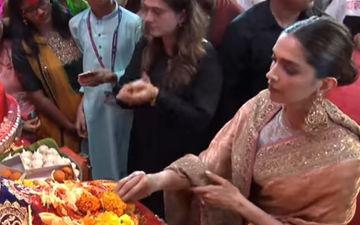 Lalbaugcha Raja Visarjan 2019: Deepika Padukone Walks Barefoot To Pray Before Lord Ganpati