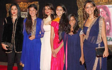Maheep Kapoor Shares An Unrecognisable Throwback Picture Of BFF's Suhana Khan, Ananya Panday And Shanaya Kapoor