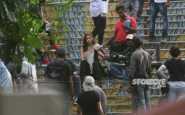 Alia Bhatt Looks Engrossed In A Shot As Her Sadak 2 On-Location Pictures Get Leaked