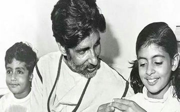 #FlashBackFriday: Abhishek Bachchan Celebrates His Dad, Amitabh Bachchan's 2nd Birthday today; View Post
