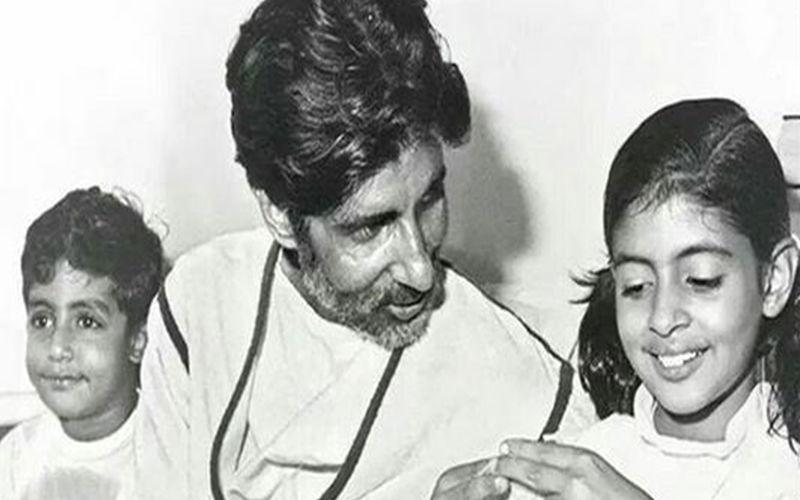 #FlashBackFriday: Abhishek Bachchan Celebrates His Dad, Amitabh Bachchan's 2nd Birthday today; View Post