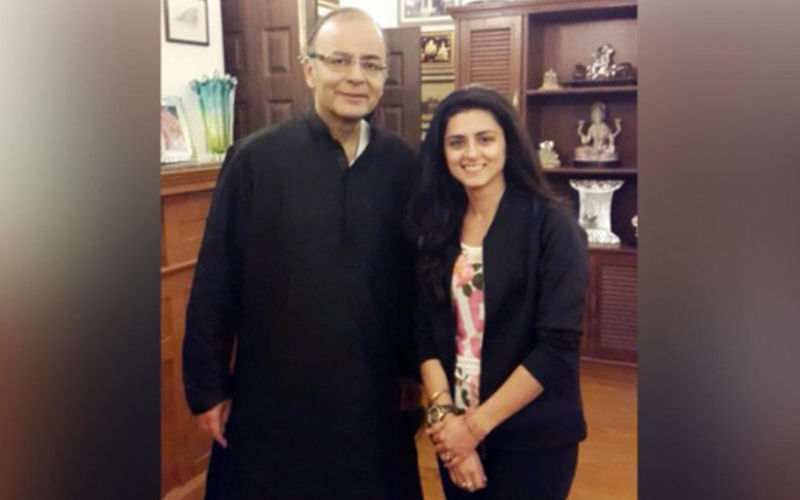 Ridhi Dogra Pens A Heartfelt Post For Former Finance Minister, Late Arun Jaitely
