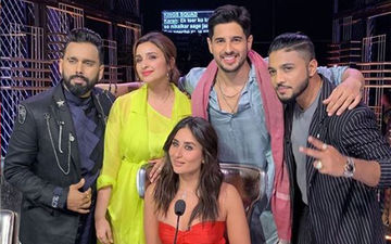 Parineeti Chopra and Sidharth Malhotra Groove To The Beats Of Khadke Glassy On The Sets Of Dance India Dance