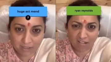 Smriti Irani Takes Instagram's Gibberish Challenge But Isn't Happy With The Outcome – Watch HILARIOUS Video