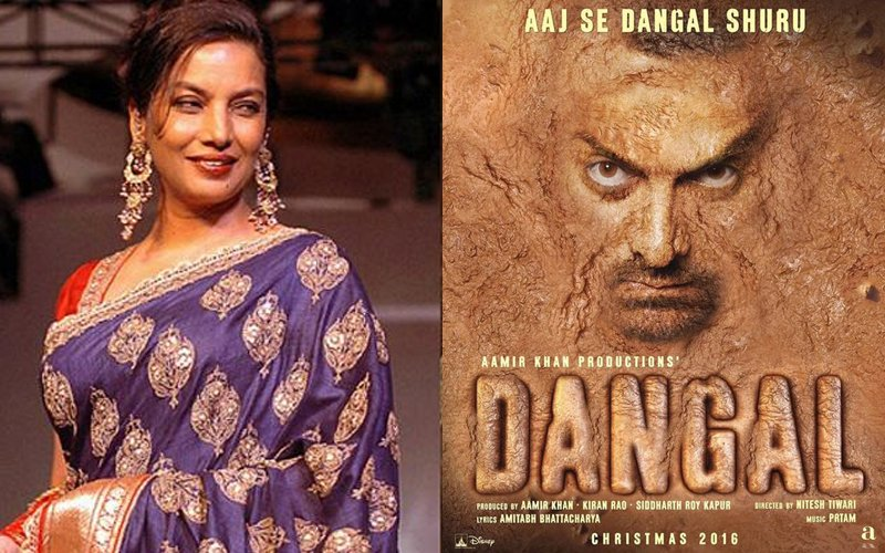 SOCIAL BUTTERFLY: Find Out What Shabana Azmi Has Something To Say About Aamir's Dangal!