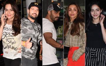Preity Zinta, Yuvraj Singh, Arjun Kapoor, Malaika Arora, Ananya Panday Chill At Soho House