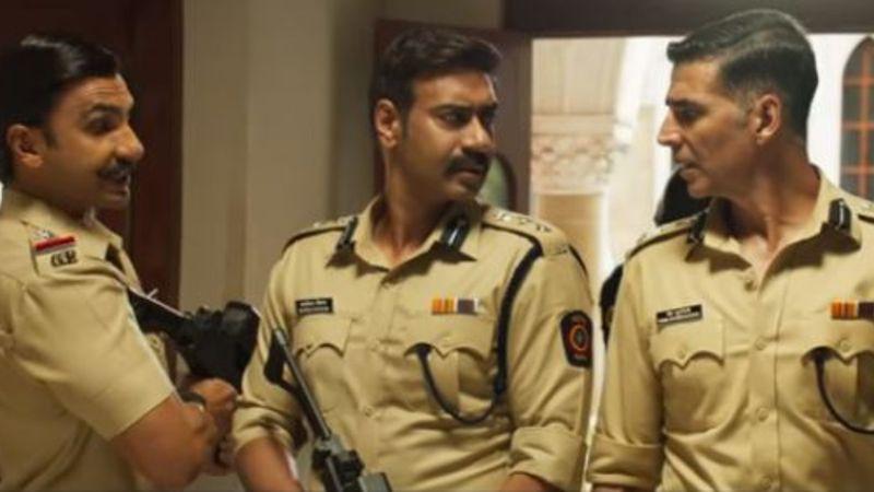 Sooryavanshi Trailer Twitter Reaction: Akshay Kumar, Singham Ajay Devgn, Simmba Ranveer Singh's Cop Universe Makes Fans Go 'Ek Number'