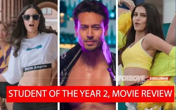 Student Of The Year 2, Movie Review: Ananya Panday Tops, Tiger Shroff And Tara Sutaria Come A Close Second