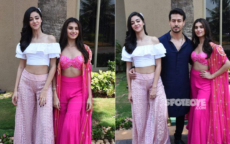 SOTY 2, Mumbai Dilli Di Kudiyaan Song Launch: Tiger Shroff, Tara Sutaria, Ananya Panday Get Groovy On-Stage