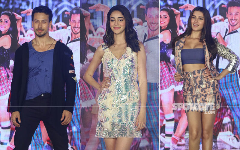 SOTY 2, The Jawaani Song Launch: Tiger Shroff, Ananya Panday, Tara Sutaria Burn The Dance Floor