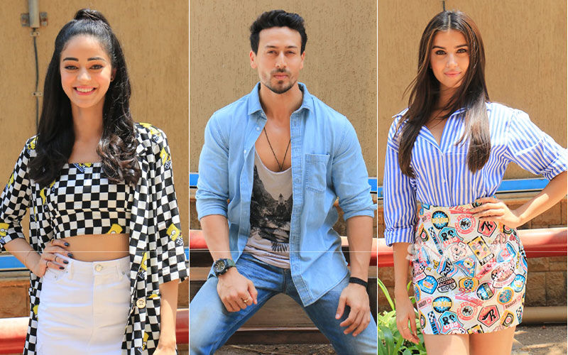 SOTY 2: Tiger Shroff, Ananya Panday, Tara Sutaria Pose For Paps Amidst Promotions