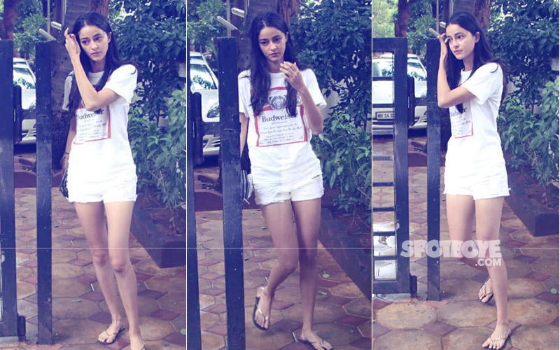SOTY 2 Star Ananya Panday Makes Heads Turn In Her All-White Avatar