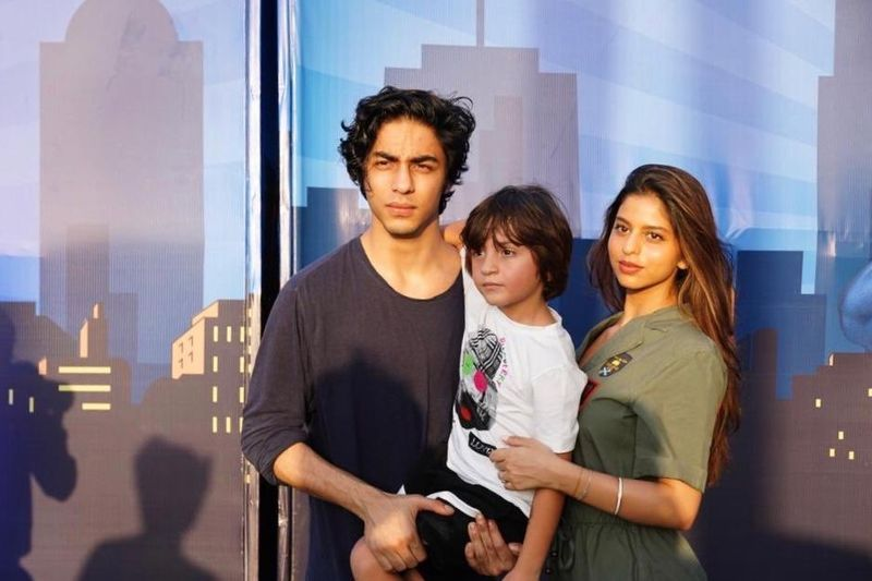 "AbRam, Suhana And Aryan- Shah Rukh Khan's ""Sugar, Spice And Everything Nice"""