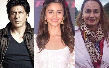 Alia Returns To India For Mom Soni Razdan And Shah Rukh Khan