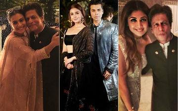काजोल,आलिया भट्ट, करण जौहर और शिल्पा शेट्टी जैसे सितारों से रोशन हुई शाहरुख खान की दिवाली पार्टी