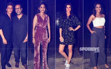 Meet The Stars - SRK, Anushka, Kriti, Swara - At Aanand L Rai's Gala Birthday