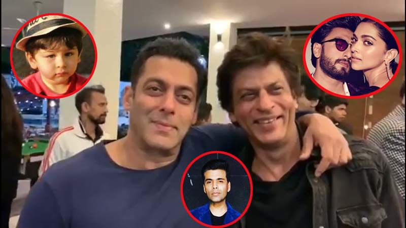 Taimur, Deepika Padukone-Ranveer Singh And Karan Johar Are Making Shah Rukh And Salman Khan Upset- Watch Video To Know Why!