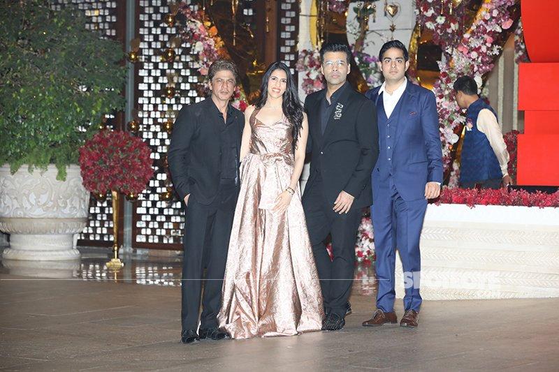 SRK Shloka Mehta Karan Johar Akash Ambani