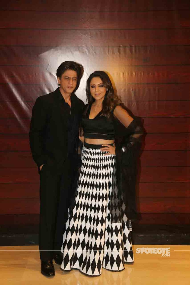 Shah Rukh Khan and wife Gauri Khan