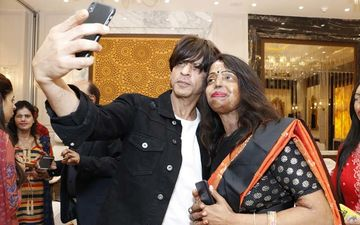 Shah Rukh Khan Meets Acid Attack Survivors And Interacts With Them At An Event Organised By Meer Foundation-PICS