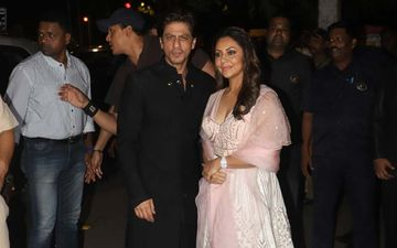 Shah Rukh Khan RESCUES Aishwarya Rai Bachchan's Manager As Her Lehenga Catches Fire At Amitabh Bachchan's Diwali Bash