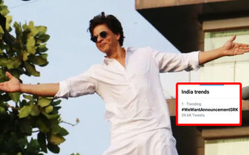Shah Rukh Khan's Fans Are Trending #WeWantAnnouncementSRK After He Squashed Rumours Of Signing  Ali Abbas Zafar's Next