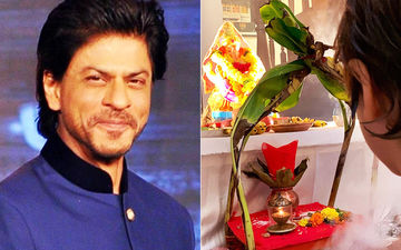 Ganpati Visarjan 2019: Shah Rukh Khan And AbRam Bid Goodbye To Lord Ganesha And Share Adorable Pics Of Bappa From Mannat
