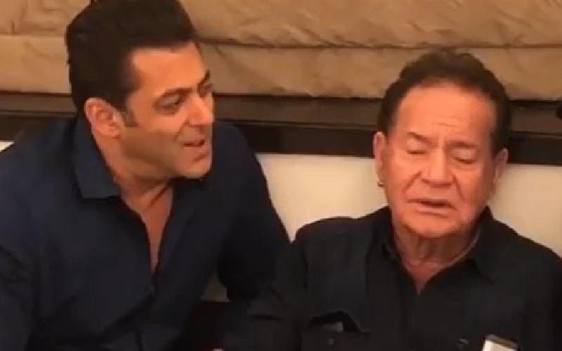 Salim Khan Agrees With Salman Khan's 'Jo Dar Gaya, Woh Bach Gaya' Remark Amidst Coronavirus Lockdown; Duo In Touch Via Video Calls