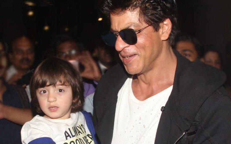 SRK's Brilliant Idea To Keep AbRam Away From Social Media