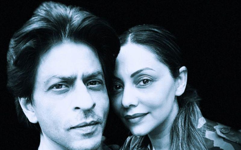 Shah Rukh Khan - Gauri Khan's 28th Wedding Anniversary: Romance King Pens A Sweet Note, Says 'I Have Got As Beautiful As Beautiful Can Be!'