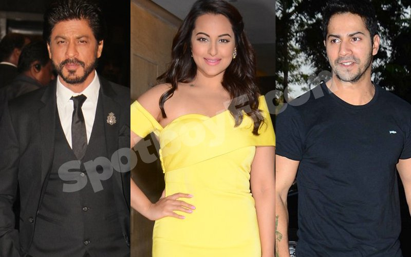 SRK, Sonakshi, Varun Thank Indian Army