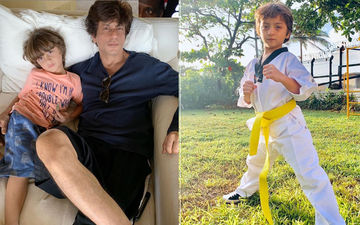 Shah Rukh Khan's AbRam Is Keeping Up With The Khan Tradition; After Aryan And Suhana, Youngest One Takes Taekwondo Lessons