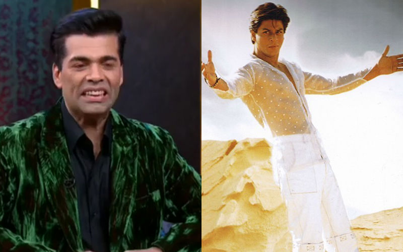 Did You Know Karan Johar's Real Name Is Shah Rukh Khan's Most Popular Screen Name?