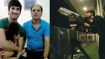 Sushant Singh Rajput's Father Reveals His Obsession With Land Purchased On The Moon, 'Apna Chand Plot 55 Lakh Ke Binocular Se Dekhta Tha'