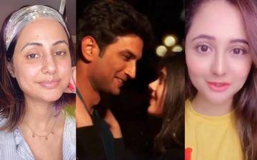 Dil Bechara Premiere: Sushant Singh Rajput's Film Leaves Rashami Desai Sobbing; Hina Khan Is Speechless