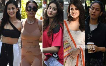 STUNNER OR BUMMER: Janhvi Kapoor, Radhika Madan, Mira Kapoor, Malaika Arora Or Amyra Dastur?