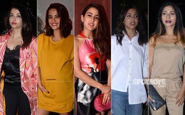 STUNNER OR BUMMER: Aishwarya Rai Bachchan, Surveen Chawla, Sara Ali Khan, Anushka Sharma Or Tanishaa Mukerji?