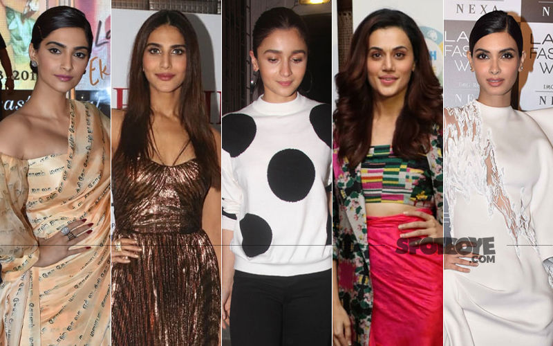 STUNNER OR BUMMER: Sonam Kapoor, Vaani Kapoor, Alia Bhatt, Taapsee Pannu Or Diana Penty?