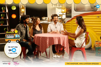 9XM Startruck With Madhuri Dixit, Anil Kapoor, Riteish Deshmukh - Catch The Episode Tomorrow!