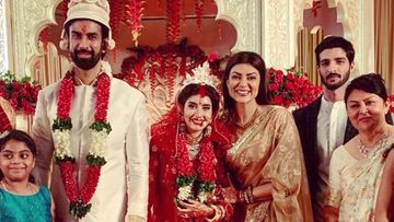 Sushmita Sen STILL Has Brother Rajeev Sen-Charu Asopa's Wedding Pics On Her Insta, While The Couple DELETES Them Amid Rumours Of Rift