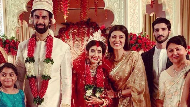 Sushmita Sen STILL Has Brother Rajeev Sen-Charu Asopa's Wedding Pics On Her Insta, While The Couple DELETES Them Amid Rumours Of Rift