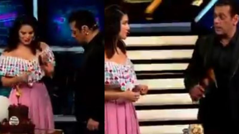 Bigg Boss 13: Ex-Contestant Sunny Leone Enters The Set, Takes Birthday Boy Salman Khan By A Delightful Surprise– VIDEO