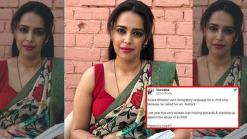 Swara Bhasker Slapped With A Legal Notice For Addressing A Kid Who Called Her Aunty As 'Ch***ya' And 'Kamina'