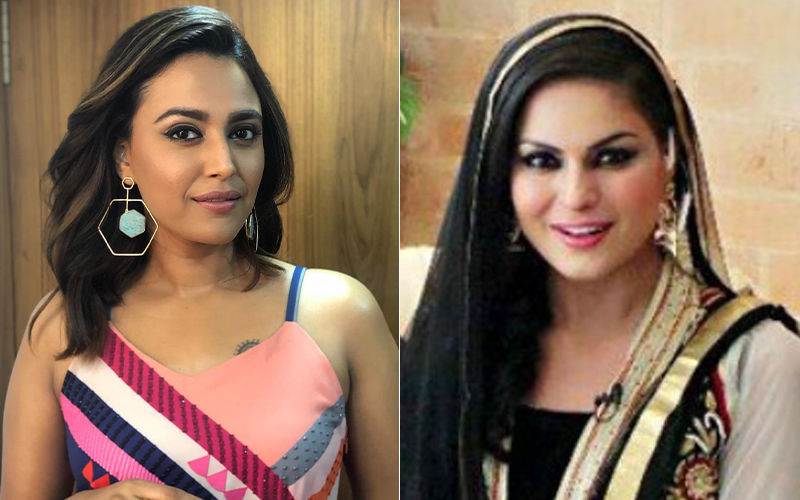 """Swara Bhasker Thrashes Veena Malik For Insulting IAF Pilot Abhinandan Varthaman: """"Shame On You And Ur Sick Mindset"""""""