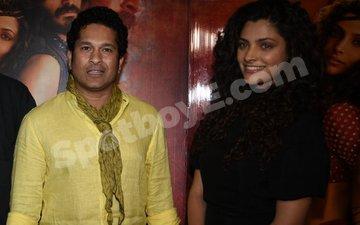 When Saiyami Kher's 'Obsession' Sachin Tendulkar Watched Mirzya With Her!
