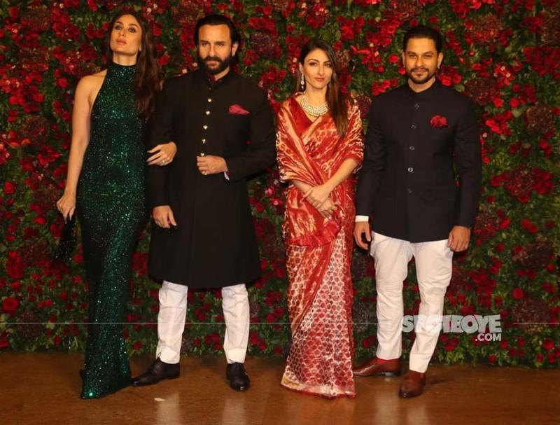 Saif Ali Khan Kareena Kapoor Khan Soha Ali Khan Kunal Kemmu