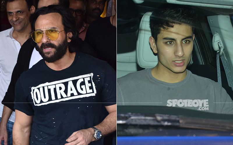 Saif Ali Khan Or Son Ibrahim Ali- It's Hard To Guess!