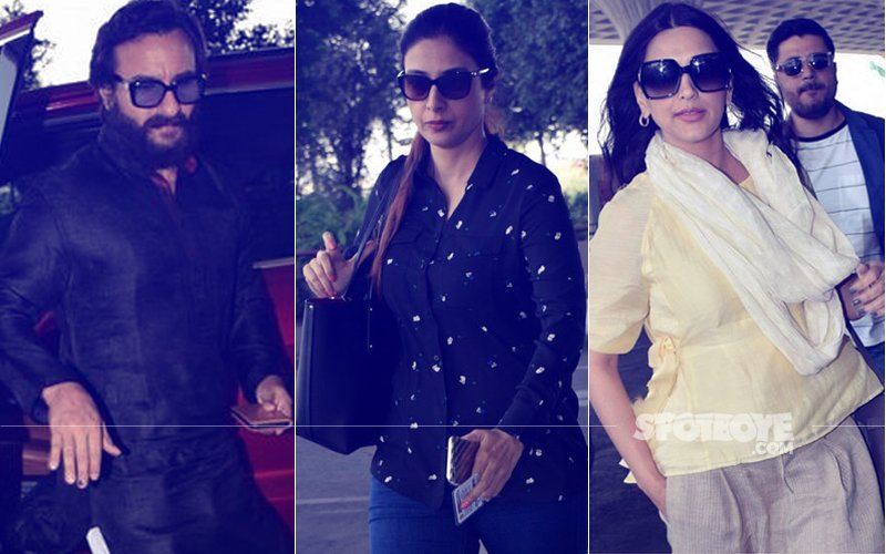 Blackbuck Case: Saif Ali Khan, Tabu & Sonali Bendre Land In Jodhpur For Final Hearing